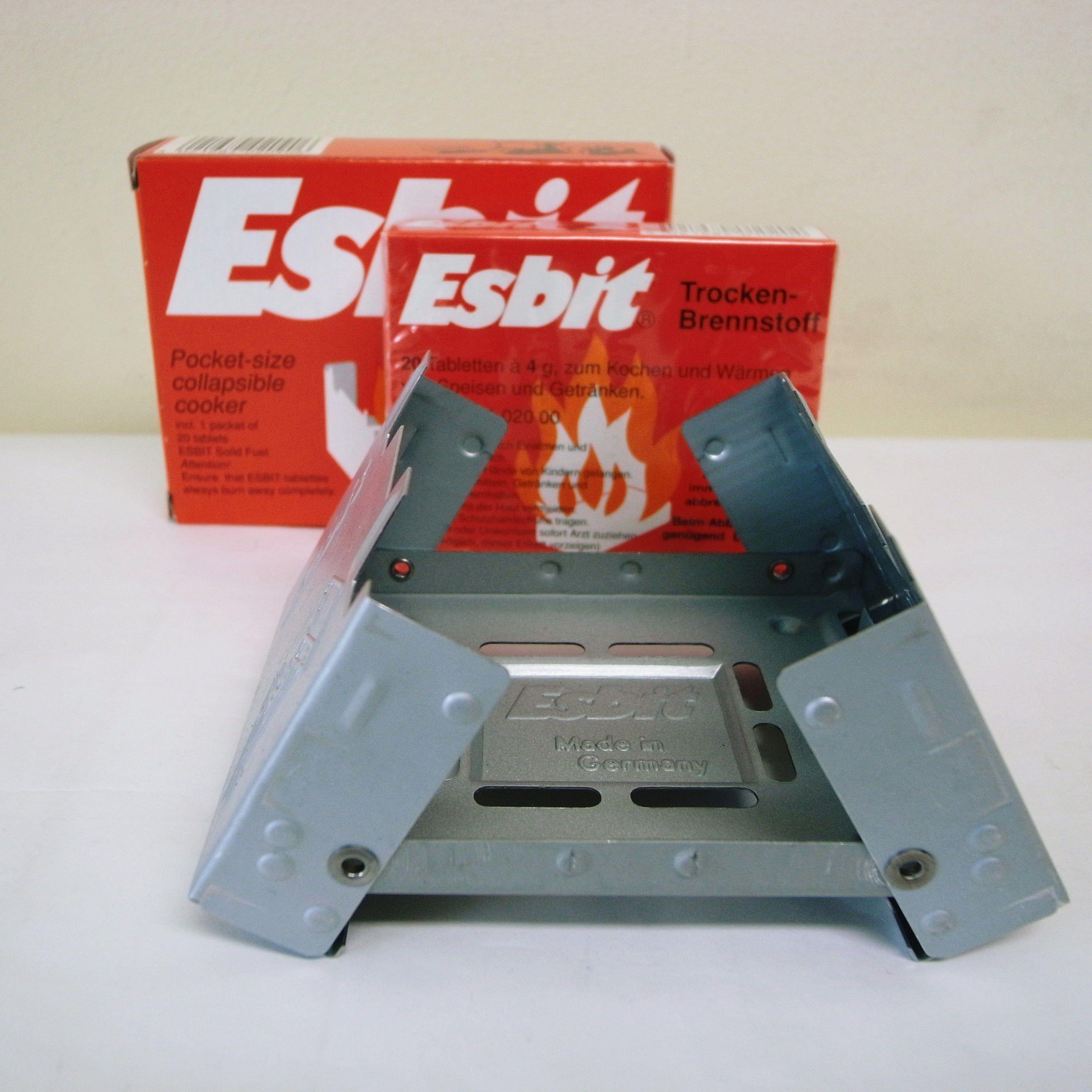 Esbit ポケットストーブ 固形燃料タブレット スターシェープクッカー