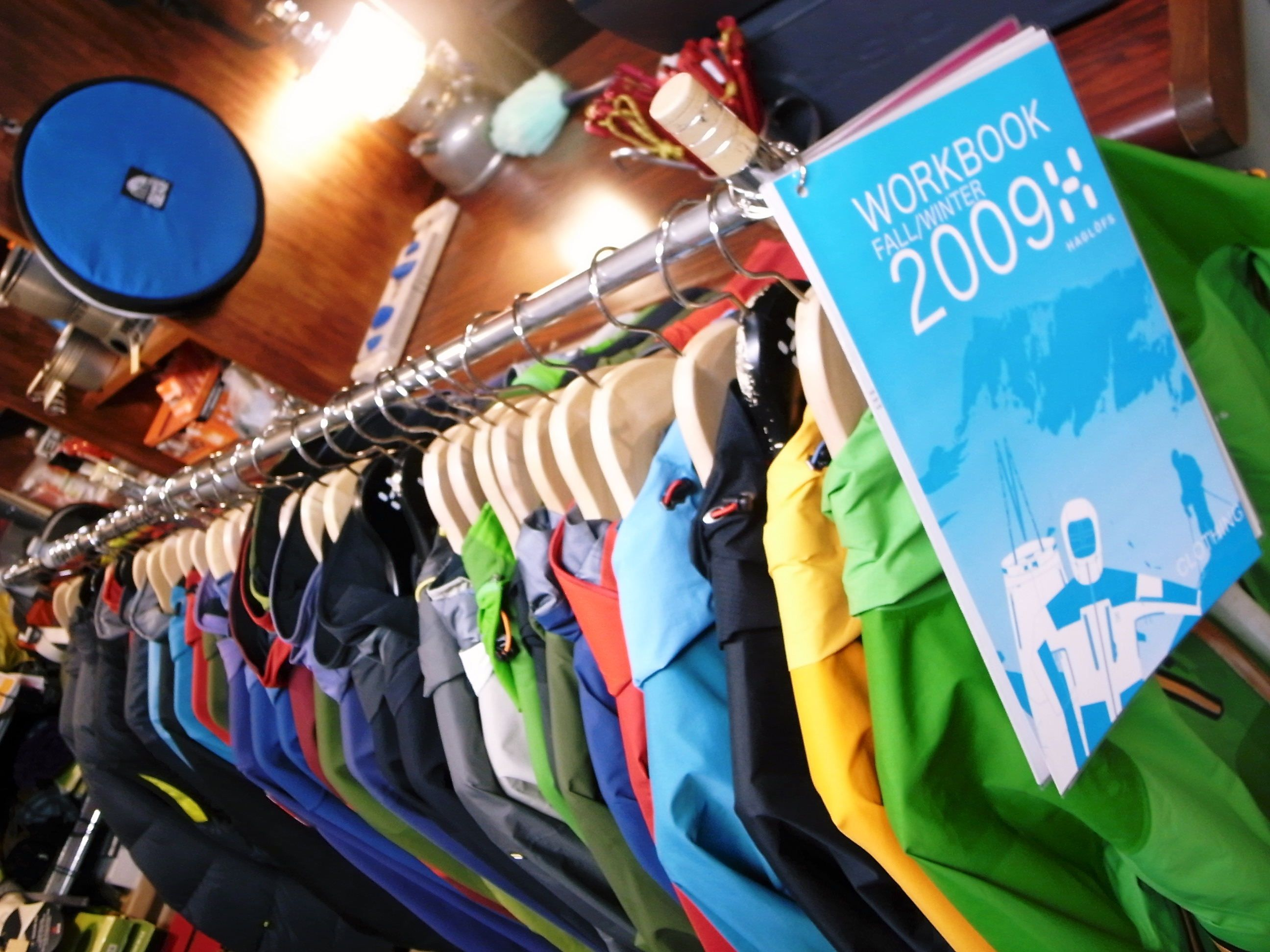 HAGLOFS 2009FALL/WINTER 予約展示会