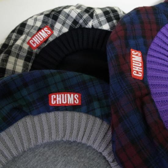 CHUMS REVERSIBLE SWEAT CAP & HELLO BERERT