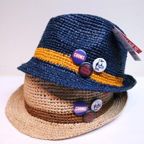 CHUMS STRAW HAT