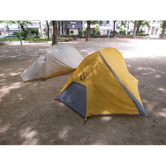 BIG AGNES Fly Creek UL1 VS NEMO OBI ELITE 1P