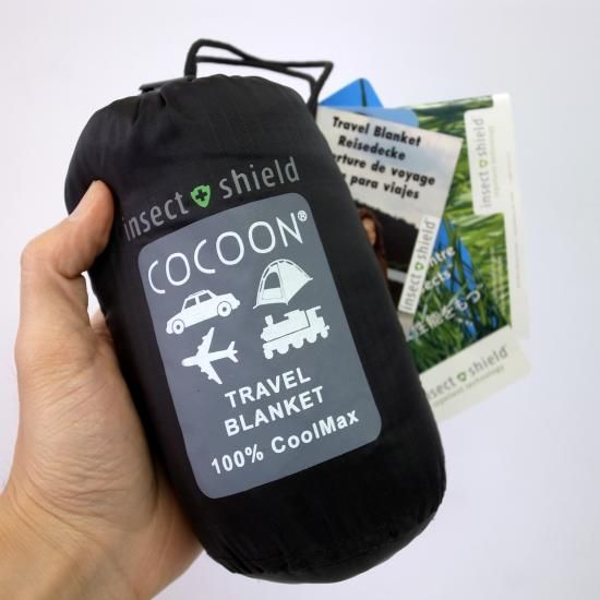 COCOON insect shielde Travel Blanket