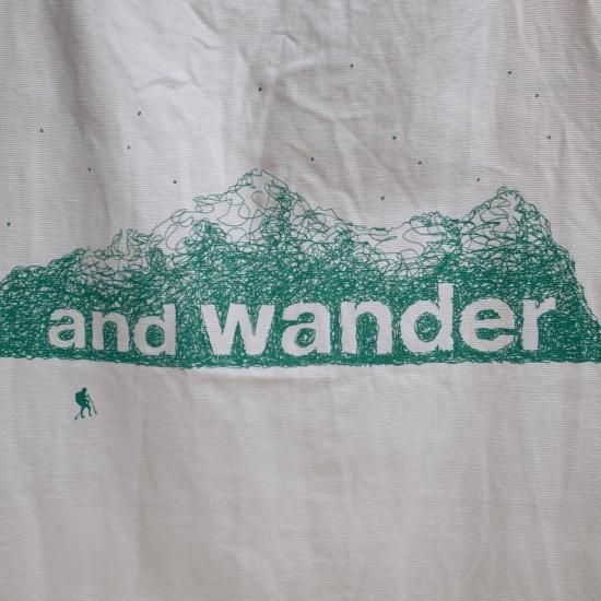 and wander PRINTED APRON
