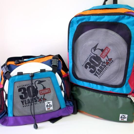 CHUMS DISC DAY PACK & HIP BAG