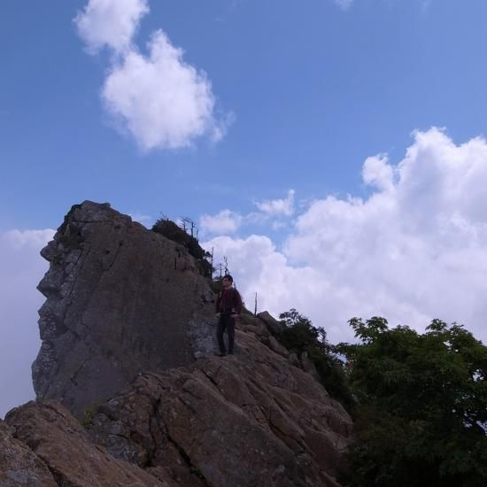 石鎚山 12. SEPTEMBER 2012