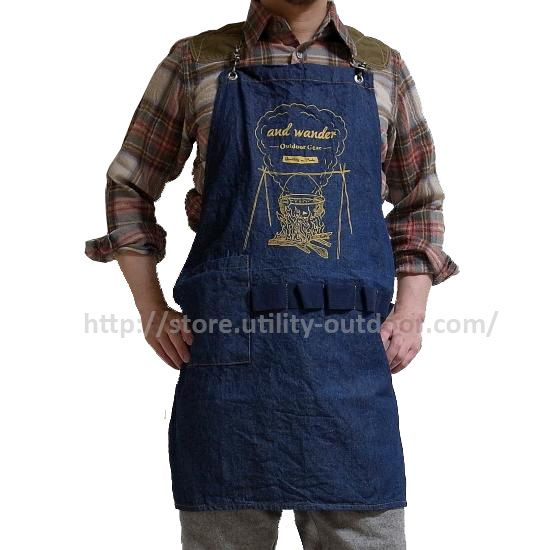 "GIFT IDEAS Vol.5  ""OUTDOOR APRON"""
