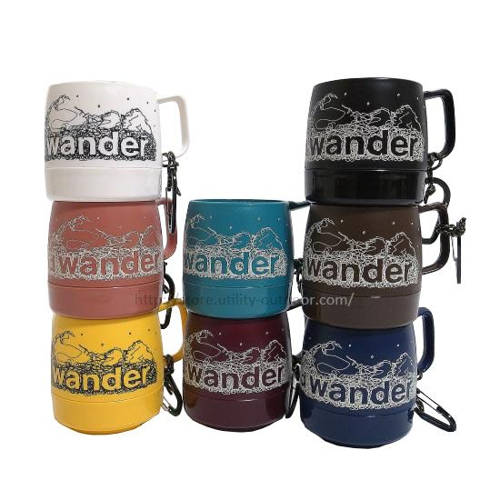 and wander DINEX printed mug New Color
