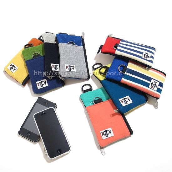 CHUMS Mobile Card Case Sweat Nylon