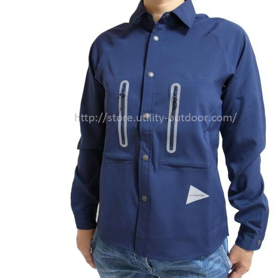 and wander tech long sleeve shirt (W)