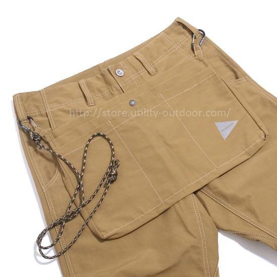 and wander 60/40 cloth apron pants