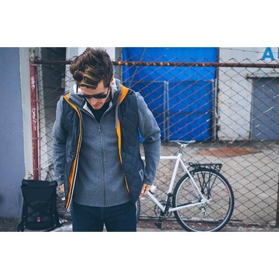 CHROME WARM VEST & IKE WINDSHIRT