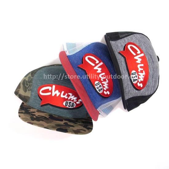 CHUMS Retro Logo Mesh Cap