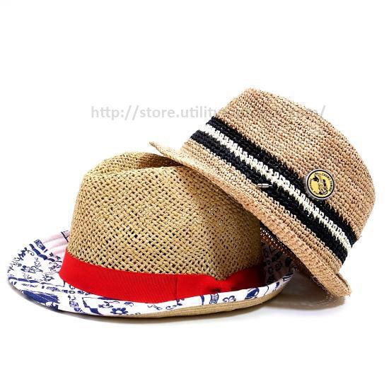CHUMS Bottle Cap Raffia Hat & Summer Blues Straw Hat