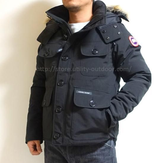 CANADA GOOSE RUSSELL PARKA BLACK & NAVY