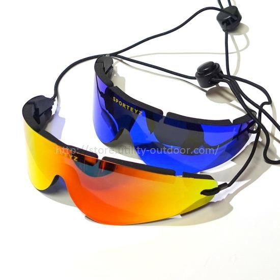 SPORTEYZ ROLL-UP SUNGLASSES MIRROR LENS