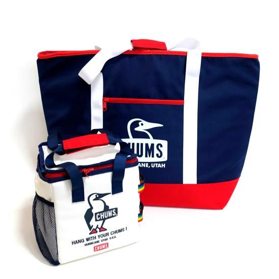 CHUMS CAMPING COOLER BAG & TOTE BAG