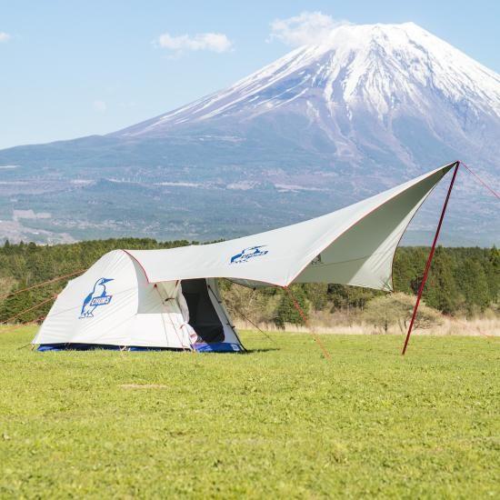 CHUMS Beetle Tent & Booby Hexa Tarp