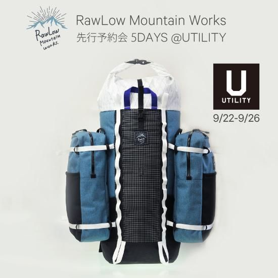 RawLow Mountain Works 先行予約会