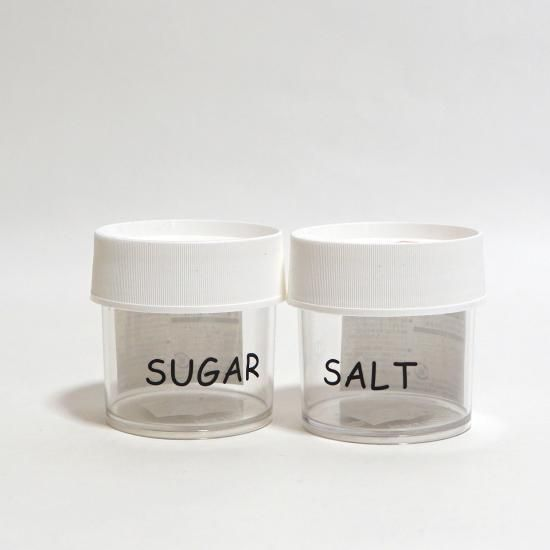 NALGENE KITCHEN JAR 125ml SALT & SUGAR