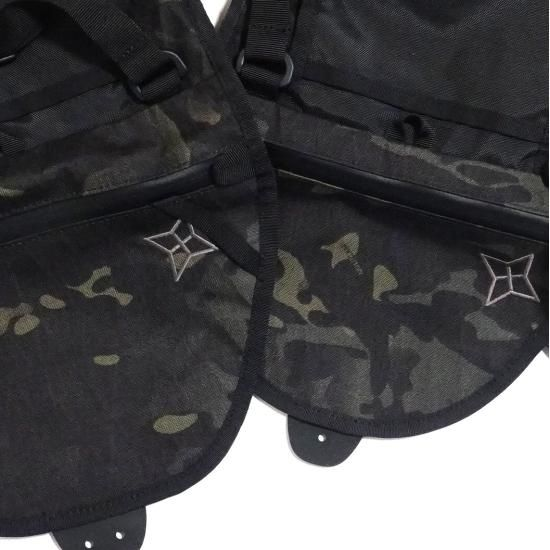 PaaGo WORKS SWING BLACK CAMO X-PAC