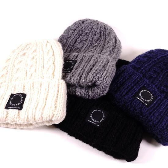 山と道 YAK Wool Knit Cap & Merino Wool Cap