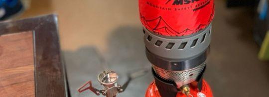 MSR WindBurner® Personal Stove System & PocketRocket® 2