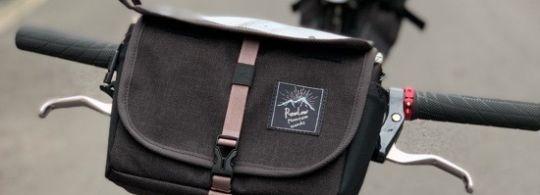 RawLow Mountain Works. Bike'n Hike Front Bag & Bike'n Hike Bag