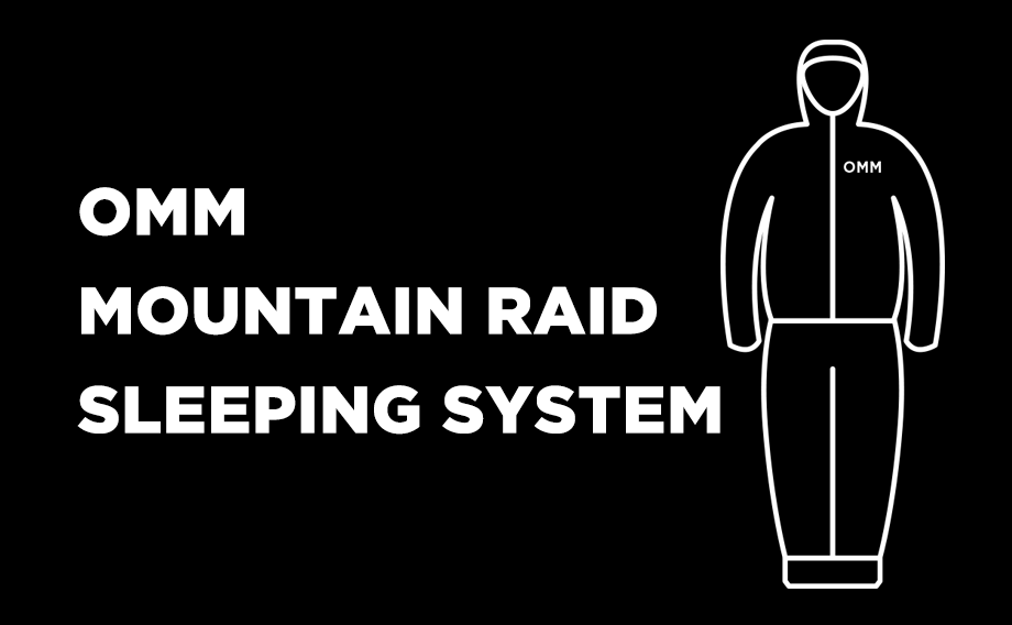 OMM MOUNTAIN RAID – SLEEPING SYSTEM